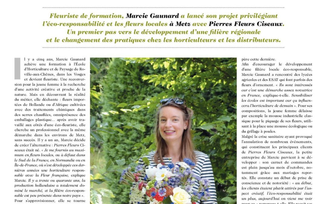 Interview Marcie Gaunard Magazine Bonnes Terres