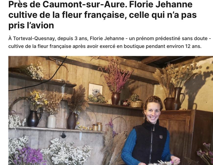 La Renaissance le Bessin – Près de Caumont-sur-Aure. Florie Jehanne