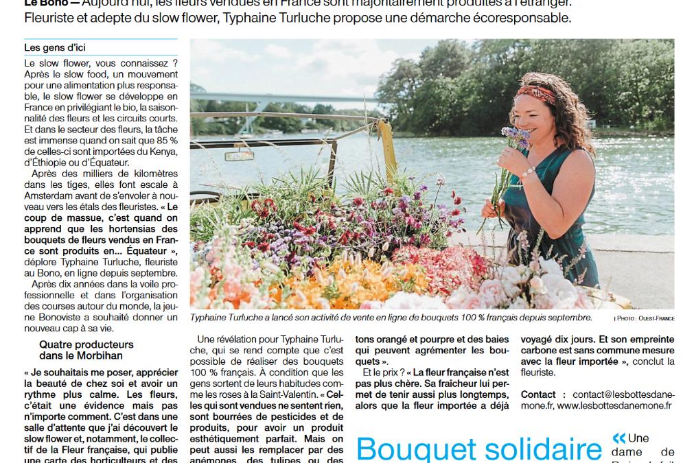 Interview Tiphaine Turluche Ouest France 26 octobre 2020