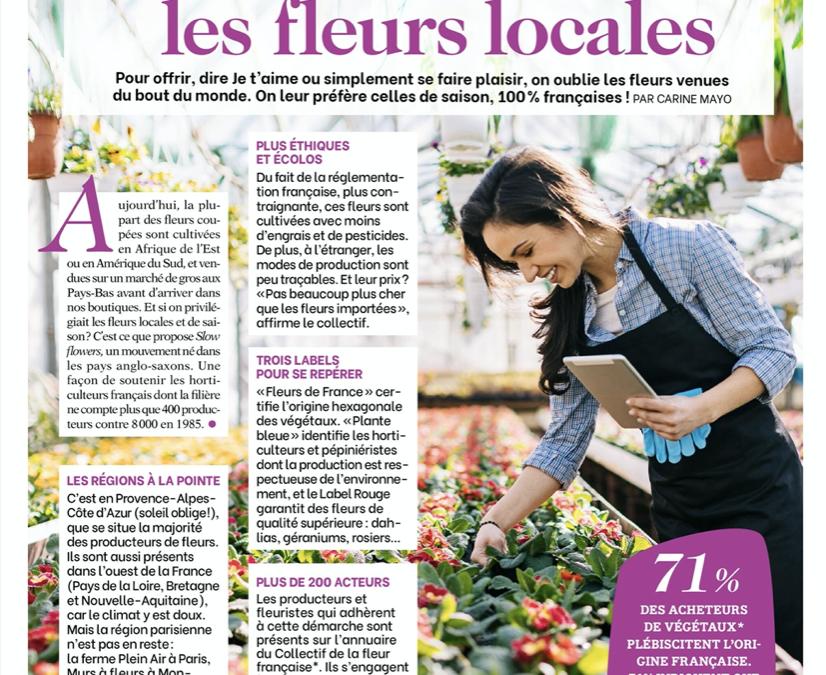 Femme Actuelle – Le mouvement «Slow flowers»: on privilégie les fleurs locales !