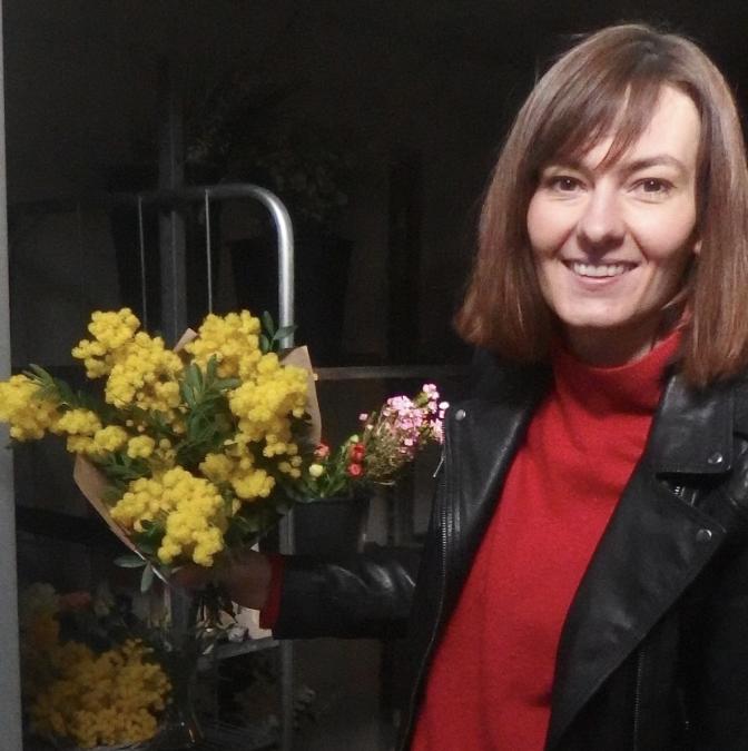 Arras : Claire Petit promeut la fleur française avec son atelier floral Les trois sœurs